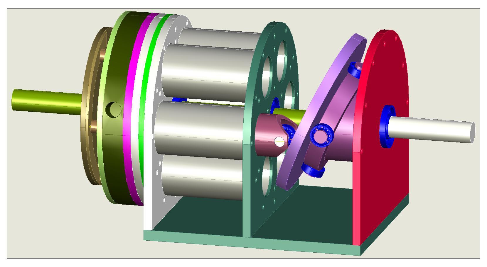 Image Gallery Swashplate Engine